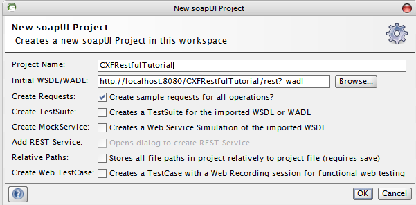 Add WADL To soapUI