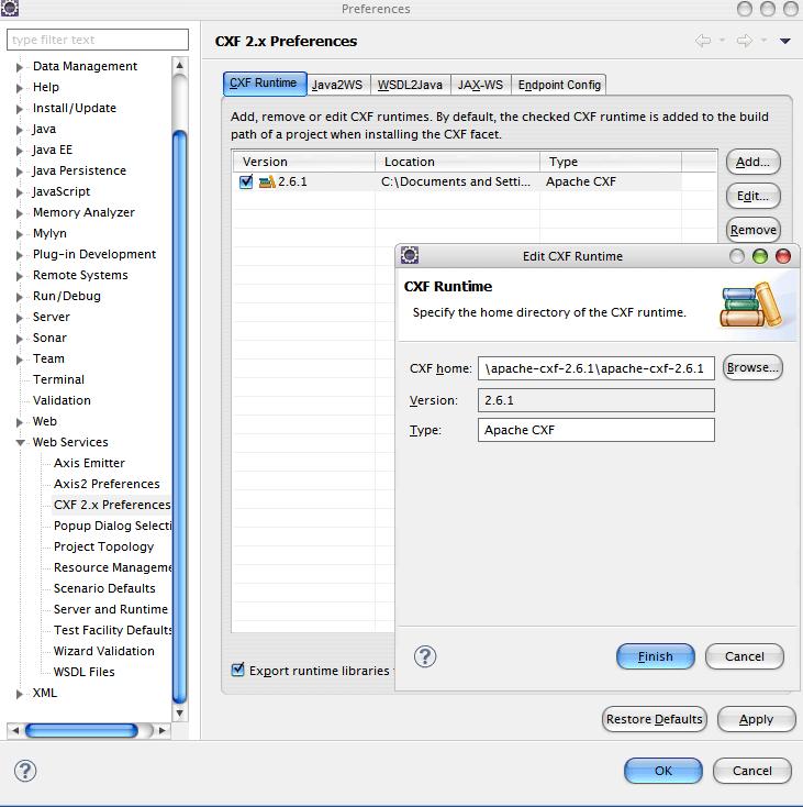 Consume JAX-WS Web Service Using Eclipse