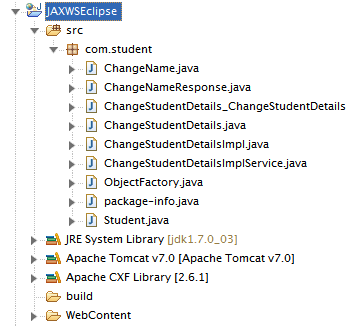 Consume JAX-WS Web Service Using Eclipse