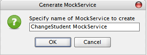 Modify MockService Name