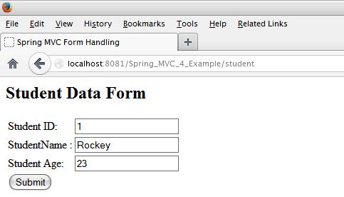 MVC 4 Example